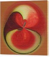 Red Watermelon Wood Print