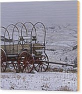 Red-wheeled Wagon   #0662 Wood Print