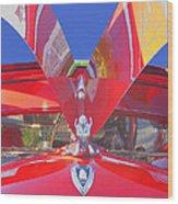 Red Wings Wood Print