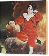 Redboy Wood Print