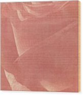 Reddish Rose Wood Print