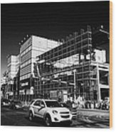 redevelopment of the imperial palace casino Las Vegas Nevada USA Wood Print