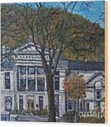 Redpath Museum Wood Print