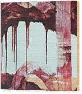 Redsaga 3 Wood Print