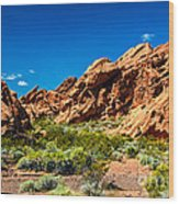 Redstone Picnic Area Wood Print