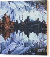 Reed Flute Cave Guillin China Wood Print