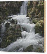 Reeds Springs Falls Wood Print
