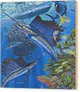 Reef Frenzy Off00141 Wood Print