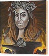 Refiner's Fire Wood Print