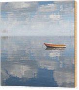 Reflected Shanti Wood Print
