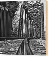 Reflected Strength Wood Print