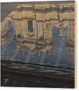 Reflecting On Noto And The Beautiful Sicilian Baroque Style Wood Print