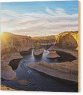 Reflection Canyon Wood Print