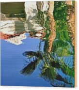 Reflection Gabezo And Trees 29478 Wood Print