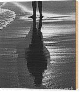 Reflection - Horseneck Beach Wood Print
