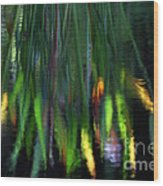 Reflection In The Pond Wood Print