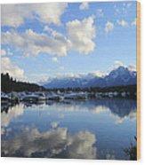 Reflection Lake Wood Print by Mike Podhorzer