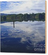 Reflection Of Natures Beauty Wood Print