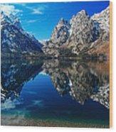 Reflection Of Serenity Wood Print