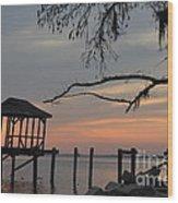 Reflection On Lake Wood Print