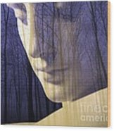 Reflection / The Philosophy Of Mind Wood Print