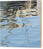 Reflections - White Wood Print