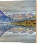 Reflections Along The Seward Highway - Alaska Wood Print