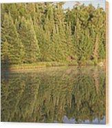 Reflections - Canisbay Lake - Detail Wood Print