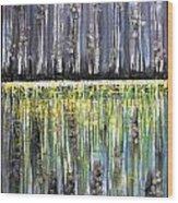 Reflections IIi Wood Print by Dan Earle