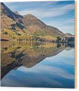 Reflections In Buttermere Uk Wood Print