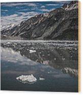 Reflections Of Alaska Wood Print