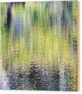 Reflections Of Fall 3 Wood Print
