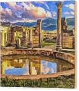 Reflections Of Past Glory Wood Print