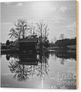 Reflections Of Peace And Tranquillity Wood Print by Jinx Farmer