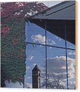Reflections Of Spokane Wood Print