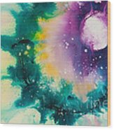 Reflections Of The Universe No. 2152 Wood Print