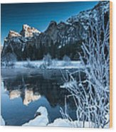 Reflections Of Yosemite Wood Print