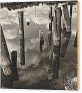 Reflections On The Bayou Villere La  Dsc05423 Wood Print