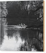 Reflections On The Withlacoochee Wood Print