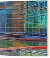 Reflective Gallery Wood Print