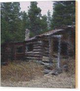 Refuge Wood Print by Kevin Bone