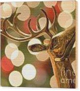 Regal Reindeer Wood Print