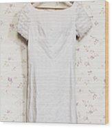 Regency Gown Wood Print