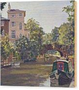 Regent S Park Canal Wood Print
