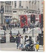 Regent Street London Wood Print