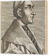 Regino Von Prum Also Known As Reginon Wood Print
