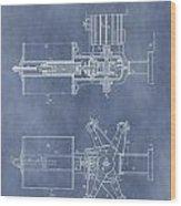 Regulator For Dynamo Electric Machine Patent Wood Print