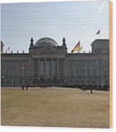 Reichstag Berlin - German Parliament Wood Print