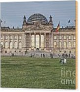 Reichstag Berlin Germany Wood Print