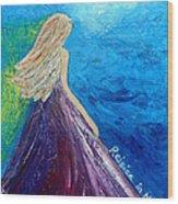 Rejoice In Hope Wood Print by Lauretta Curtis